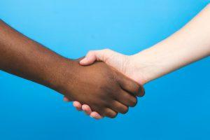 handshake-on-blue